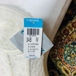 carnival Intimates & Sleepwear - 🔥NWT White Vintage Corset